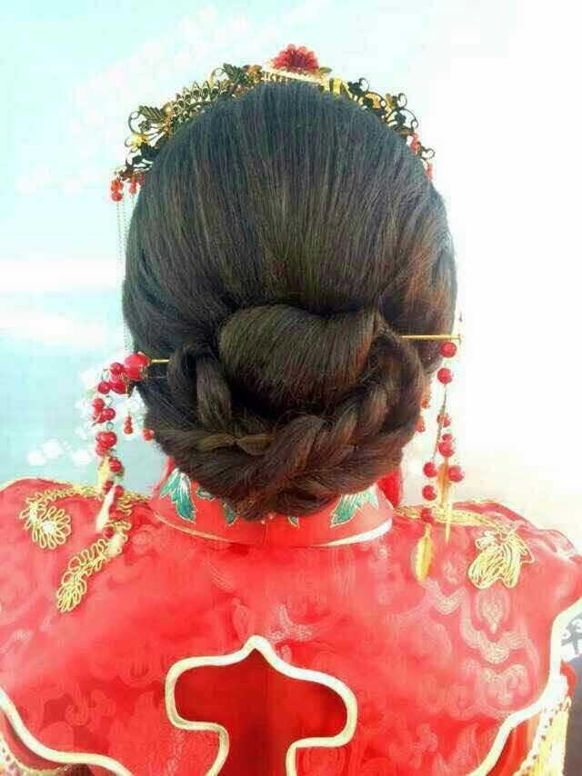 秀禾新娘整体造型设计