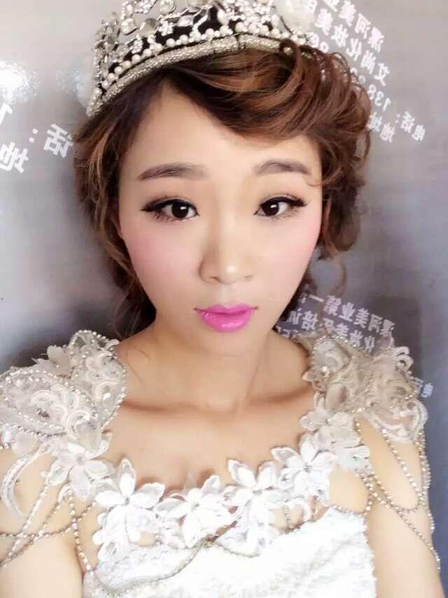 新娘妆整体造型1【调整型化妆】